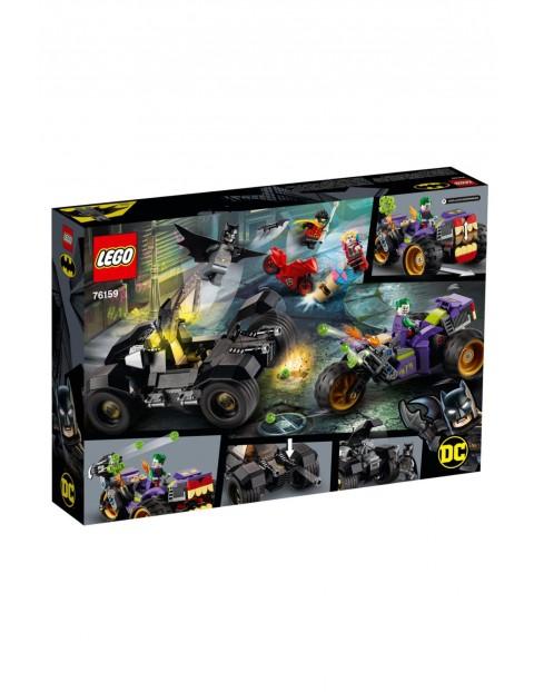 Lego Super Heroes 76159  - Trójkołowy motocykl Jokera - 440 elementy