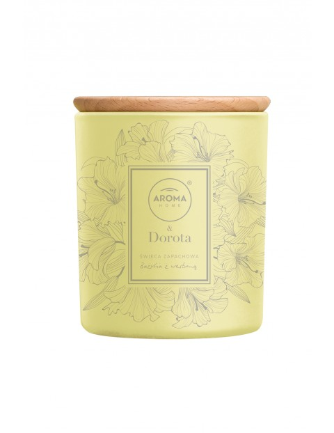 Aroma Home & Dorota Świeca Bazylia i Werbena (Garden) 260ml/ 150g