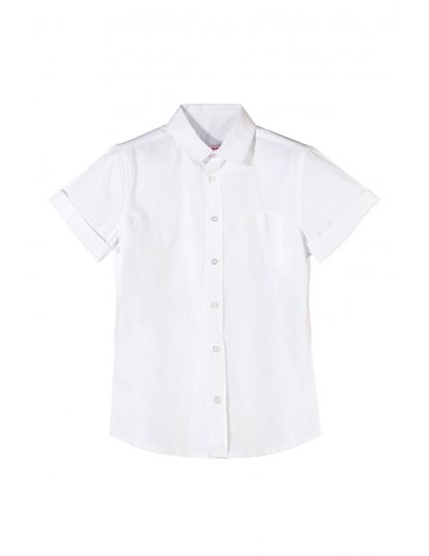 Koszula chłopięca biała 2J3513
