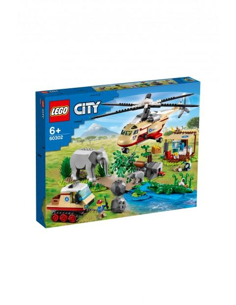 LEGO City - Na ratunek dzikim zwierzętom -  525el wiek 6+