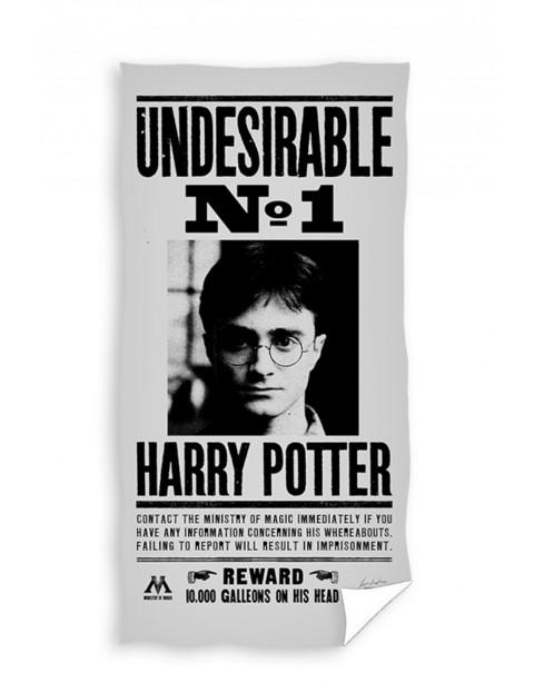 Ręcznik kąpielowy bawełniany Harry Potter 70x140cm