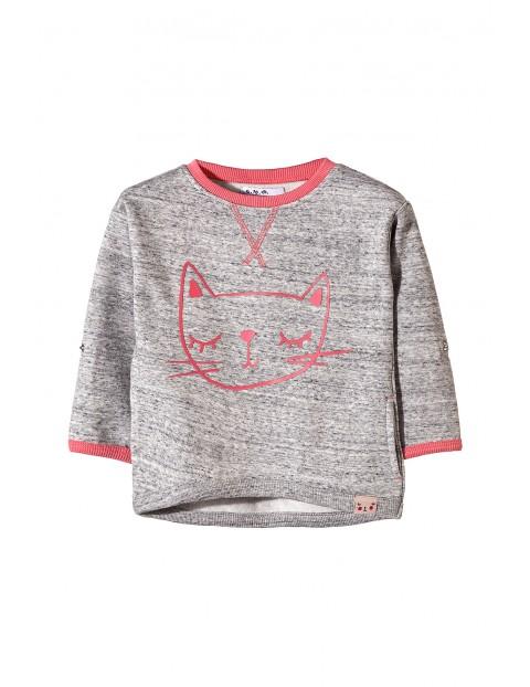 Bluza dresowa dziewczęca 3F3404