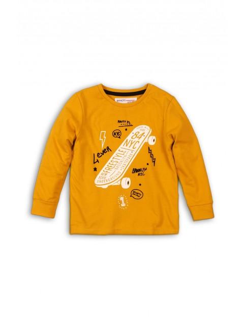 Cienka dzianinowa bluzka dla niemowlaka