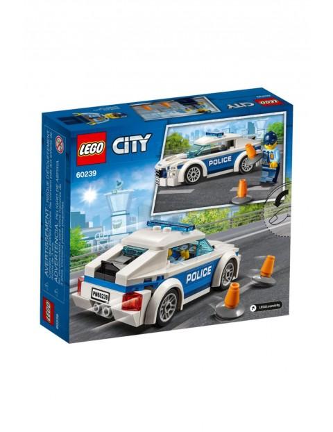 Lego City-Samochód policyjny - 92el wiek 5+