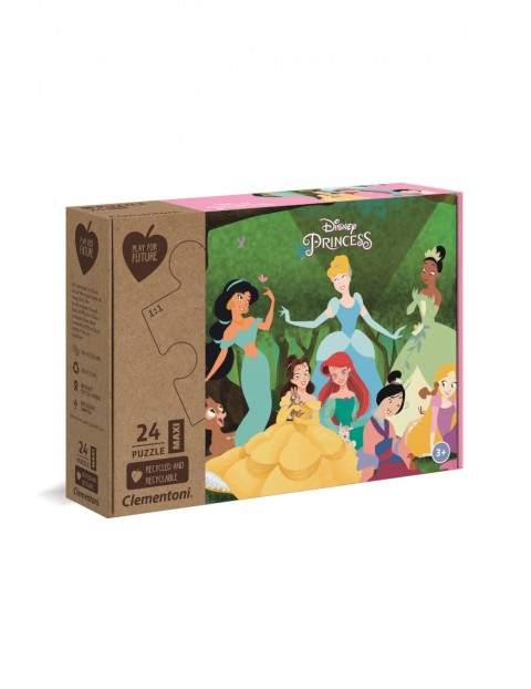 Puzzle Księżniczki - 24 el wiek 3+