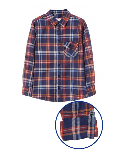 Koszula w kratę dla chłopca 2J3515