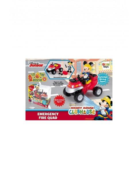 Myszka Miki straż pożarna z quadem1Y33HE