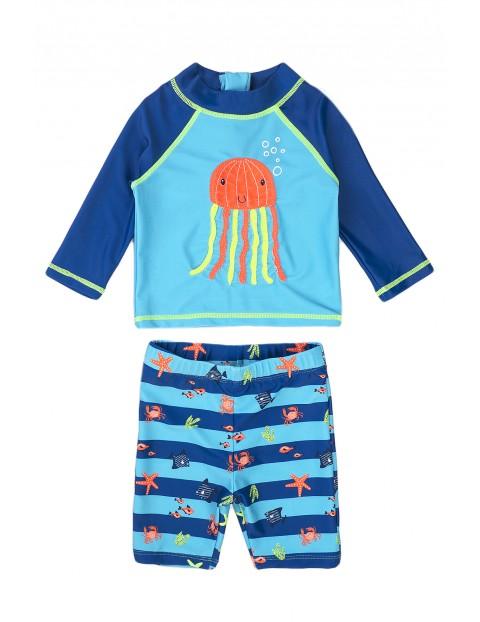 Strój kąpielowy chłopięcy dwuczęściowy z meduzą
