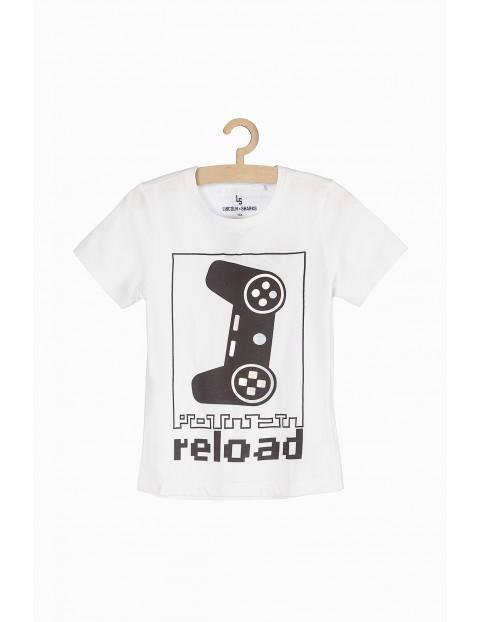 Dzianinowa koszulka dla chłopca- Game