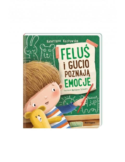 Książka - Feluś i Gucio poznają emocje