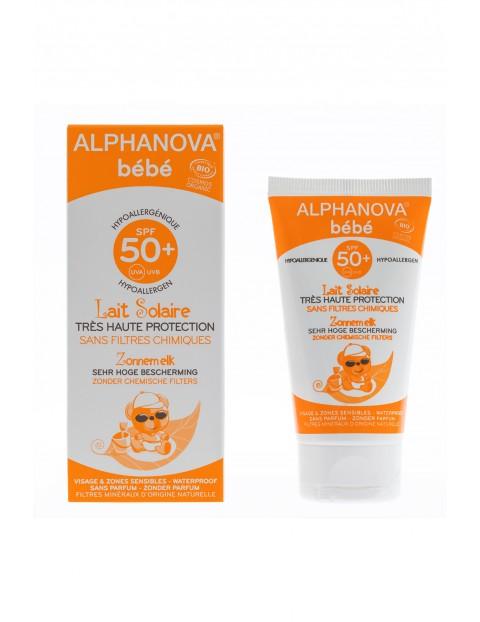 Krem na słońce Alphanova SPF 50+ - 50 ml