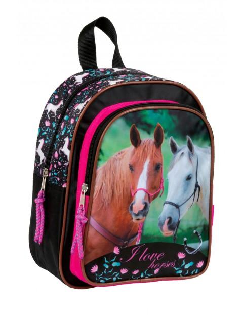 Mały plecak dla dziewczynki Konie