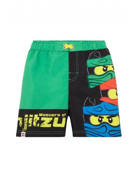 Szorty kąpielowe chłopięce Lego Ninjago-zielone