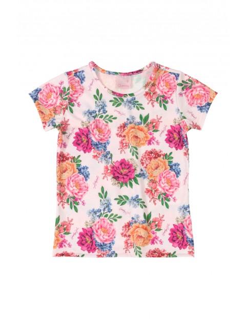 Koszulka dzianinowa w kwiatki
