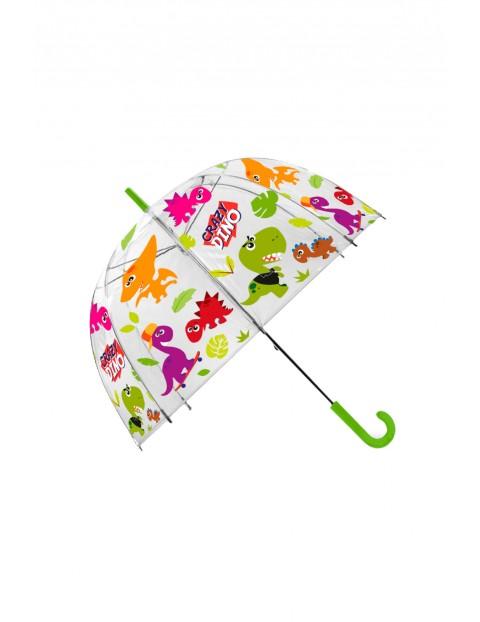 Parasolka przezroczysta dla dzieci Crazy Dino