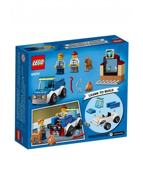 Lego City - Oddział policyjny z psem - 67 elementów wiek 4+