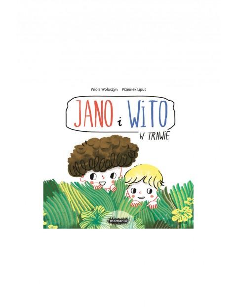 """Książka dla dzieci """"Jano i Wito. W trawie"""" W.Wołoszyn, P.Liput"""