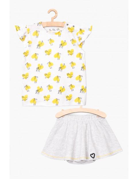 Komplet ubrań na lato- spódniczka i tshirt