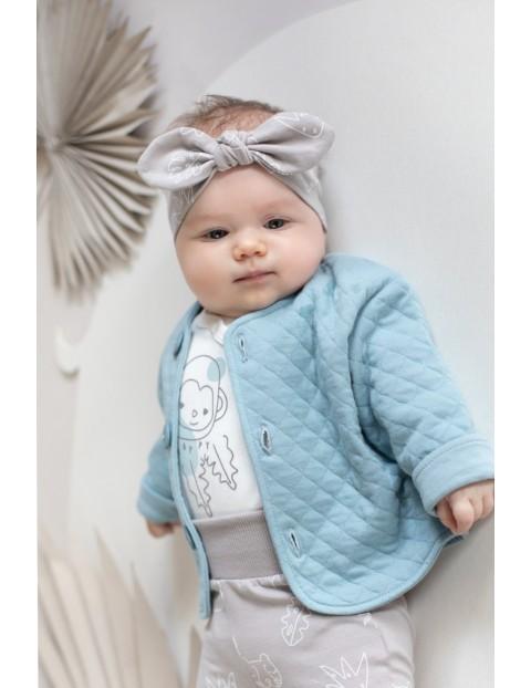 Opaska niemowlęca beżowa SLOW LIFE