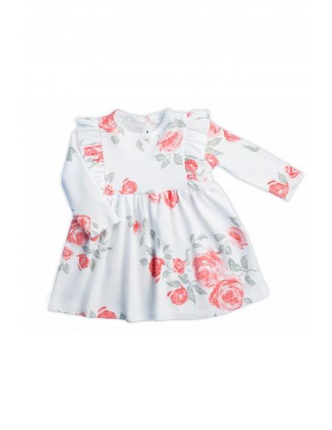 Bawełniana sukienka z kolekcji Róża