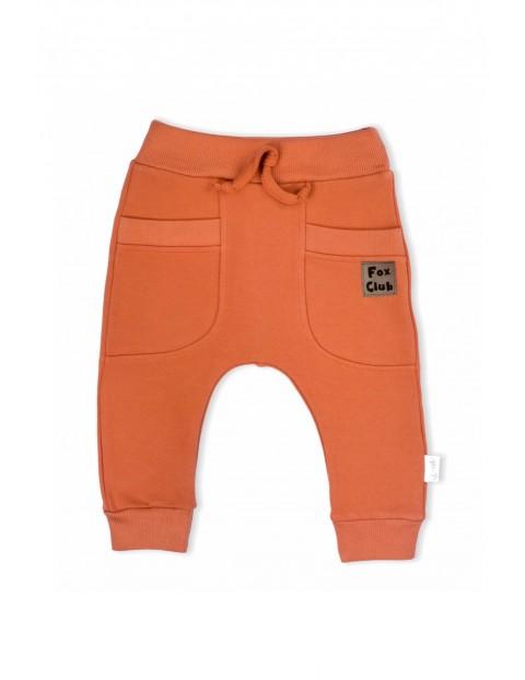 Spodnie dresowe Fox Club wykonane z wysokogatunkowej bawełny