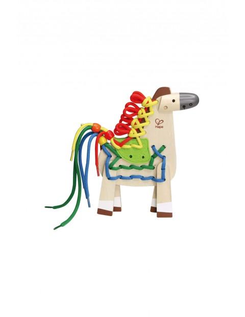 Sznurowany Konik- zabawka edukacyjna 12msc+