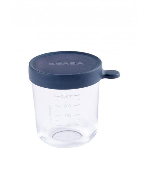 Pojemnik słoiczek szklany z hermetycznym zamknięciem 250 ml Beaba