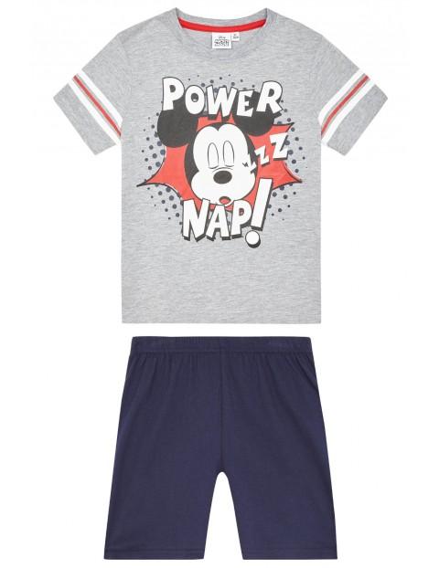 Piżama chłopięca Myszka Miki- spodenki + t-shirt