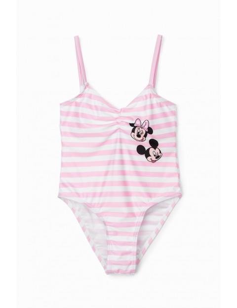 Strój kąpielowy dziewczęcy  Minnie Mouse - różowy