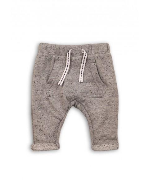Spodnie dresowe niemowlęce szare