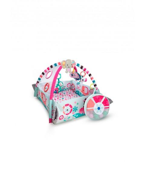 Plac zabaw słonik pink z piłeczkami 0msc+