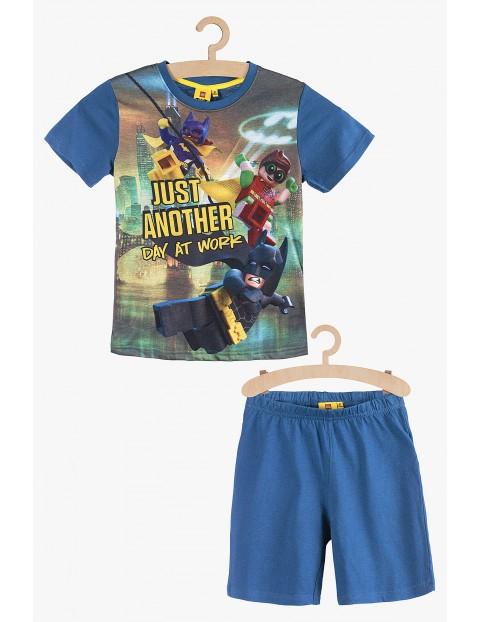 Lego Batman pidżama chłopięca - niebieska rozm 140