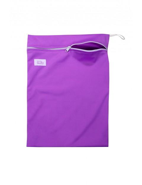 Woreczek na pieluszki Mila - fioletowy