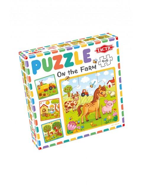Moje pierwsze puzzle: Farma wiek 3+