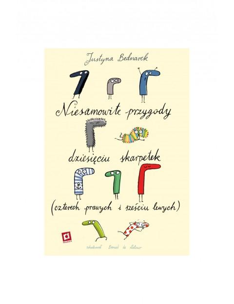 Książka dla dzieci- Niesamowite przygody dziesięciu skarpetek wiek 3+