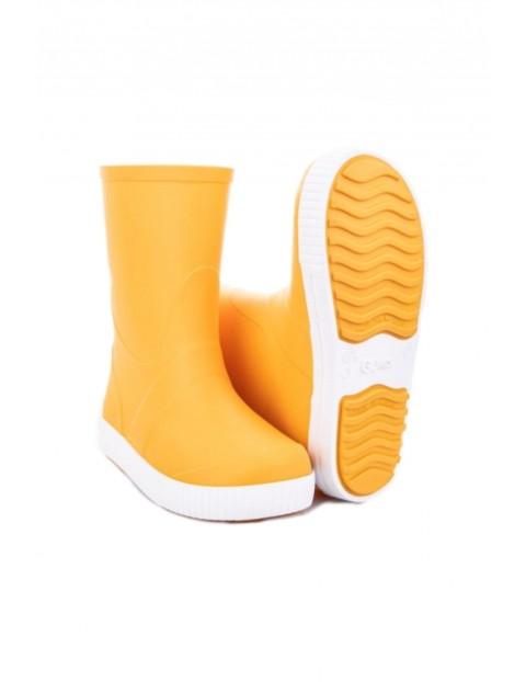 Kalosze dziecięce Wave - żółte