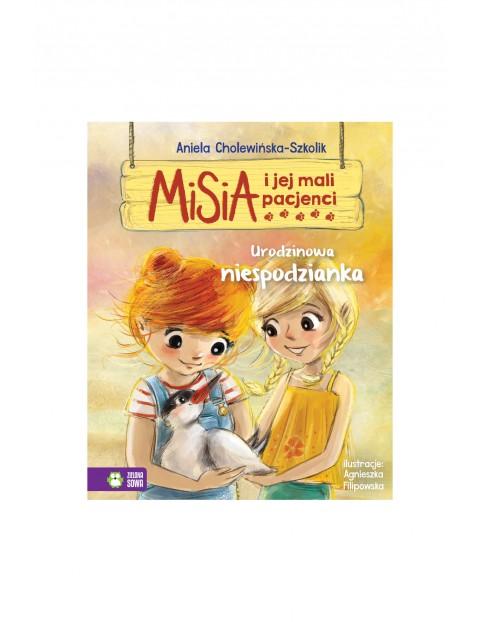 Książka dla dzieci- Urodzinowa niespodzianka. Misia i jej mali pacjenci wiek 4+