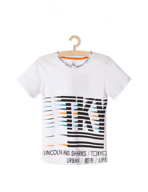 T-shirt chłopięcy z napisem Tokyo