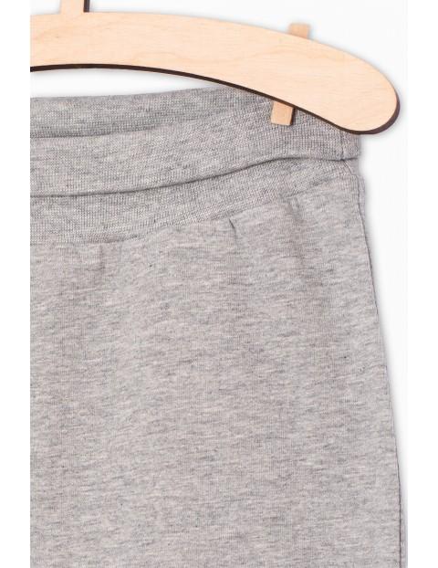 Dresowe spodnie dla dziecka- szare