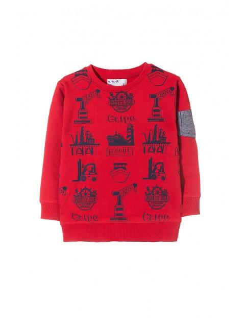 Bluza sportowa dla chłopca 1F3521