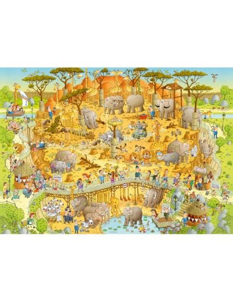 Puzzle 1000 EL. African Habitat
