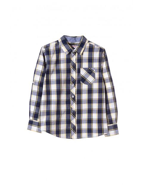 Koszula chłopięca w kratę 2J3401