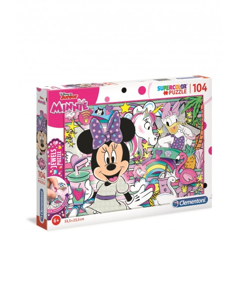 Puzzle z ozdobami Minnie  Mouse Clementoni - 104 el