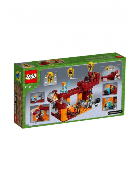Lego Minecraft - Most Płomyków - 372 el wiek 8+