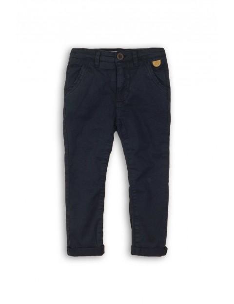 Spodnie chinosy dla chłopca-czarne rozm 92/98