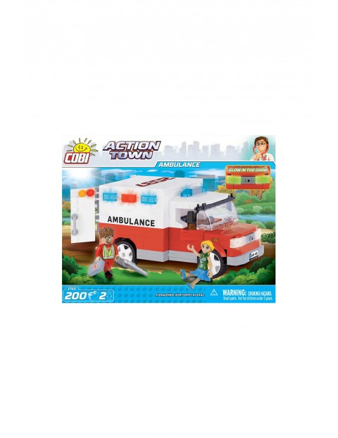 Klocki COBI Ambulans 200el