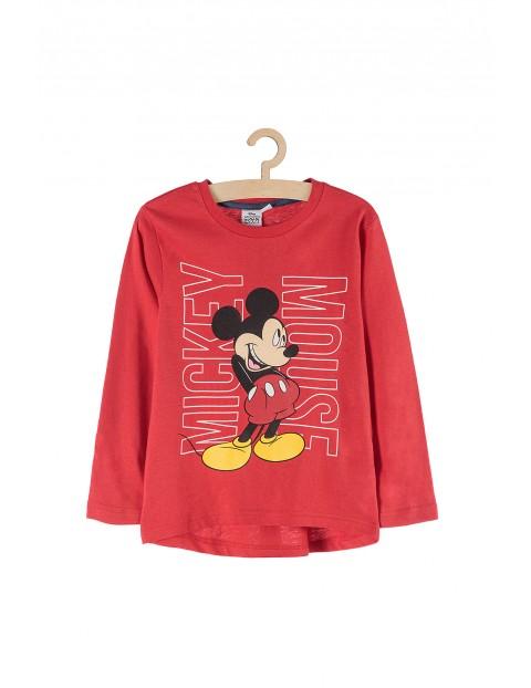 Bluzka chłopięca Myszka Mickey czerwona