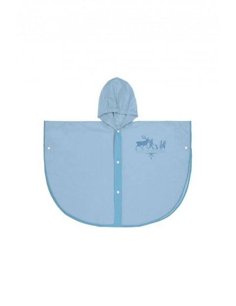 Poncho przeciwdeszczowe Frozen 2 - niebieskie