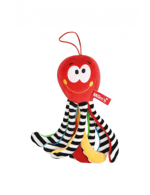 Mini Ośmiornica Czerwona zabawka dla niemowląt