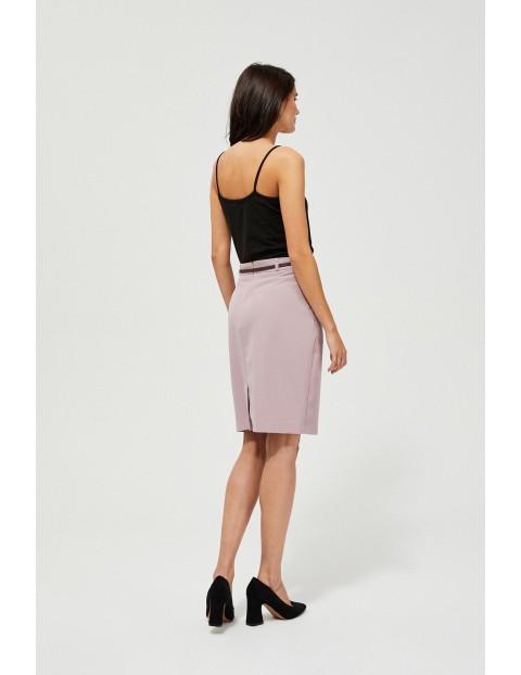 Ołowkowa spódnica damska - różowa